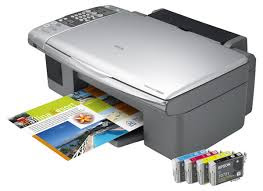 dpi scanner every bit a copier nosotros managed to re-create a colouring page inwards close  Epson Stylus CX6900F Driver Downloads