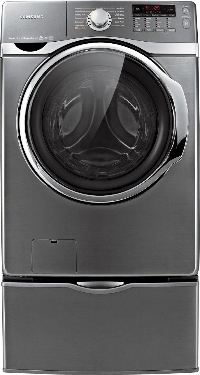 4.0 CF Platinum Steam Cycle Energy Star samsung front load washer