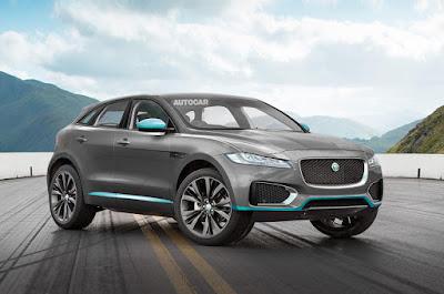 Jaguar E-Pace anticipazioni: uscita e prezzi