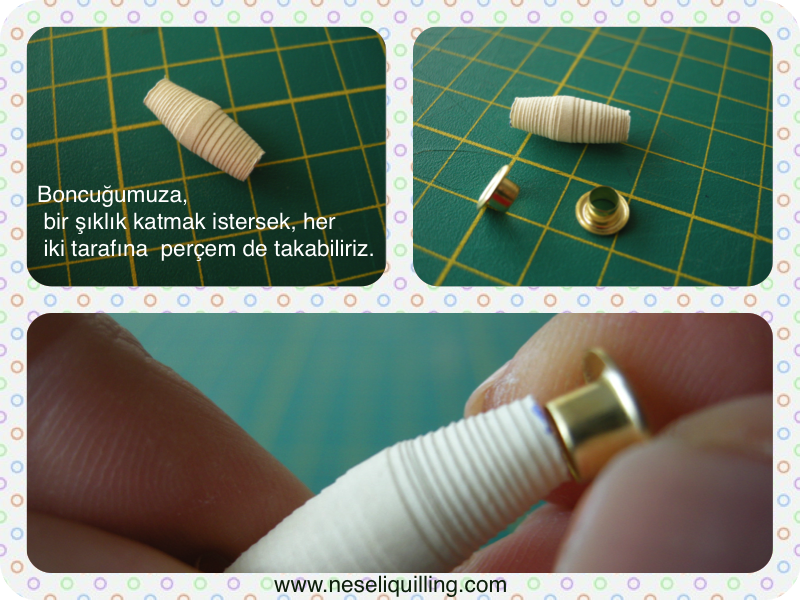 quilling bead tutorial