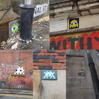 Space Invaders in Manchester