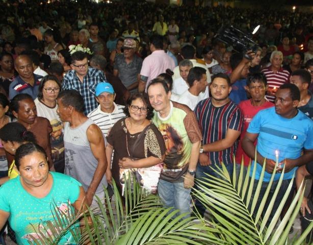 Deputado Zito Rolim prestigia festejos de São Francisco de Assis em Codó