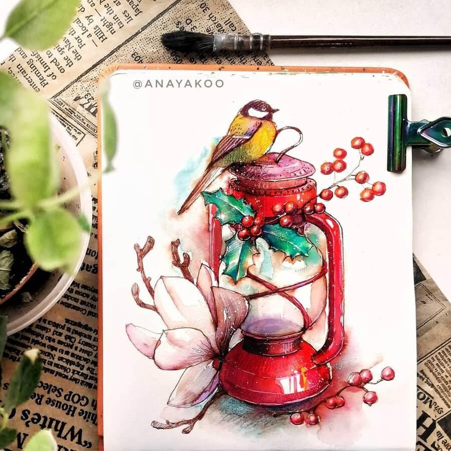 07-Bird-and-oil-lamp-Anya-Yakovleva-www-designstack-co