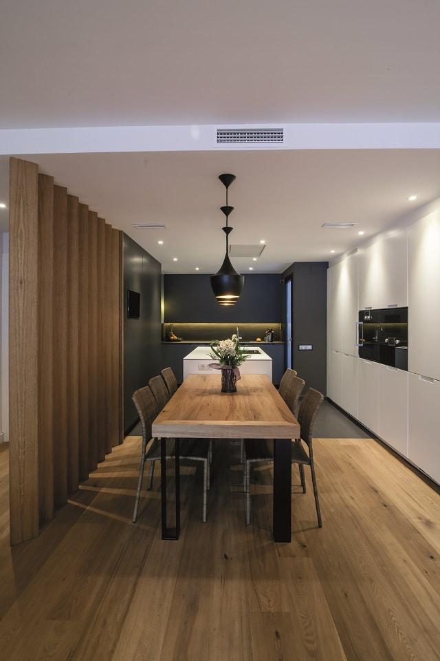 Colores neutros: perfectos para integrar los ambientes - Cocinas con ...