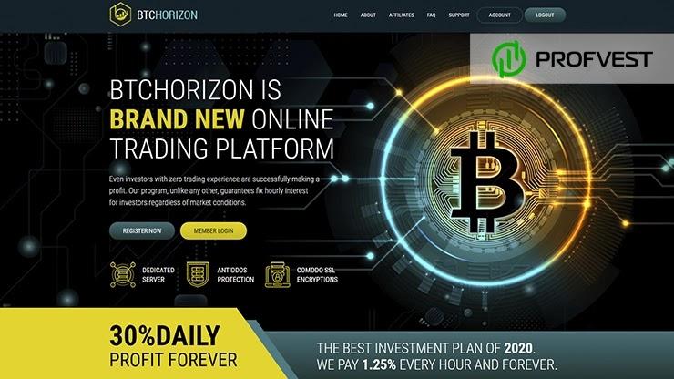 BTCHorizon обзор и отзывы HYIP-проекта