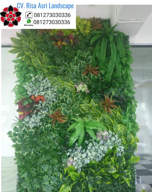 Jasa Pembuatan Vertical Garden Gresik, Tukang Taman Vertikal