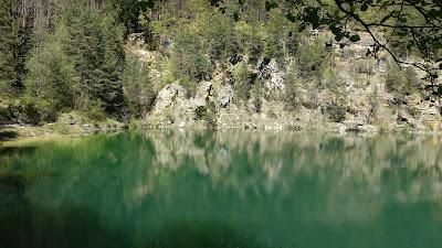Lac Vert oberhalb von Court