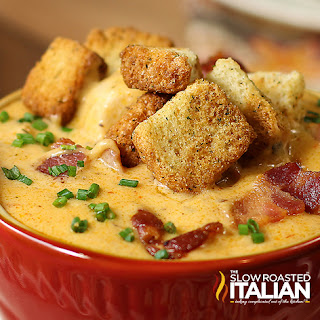 bacon beer cheese soup chicken