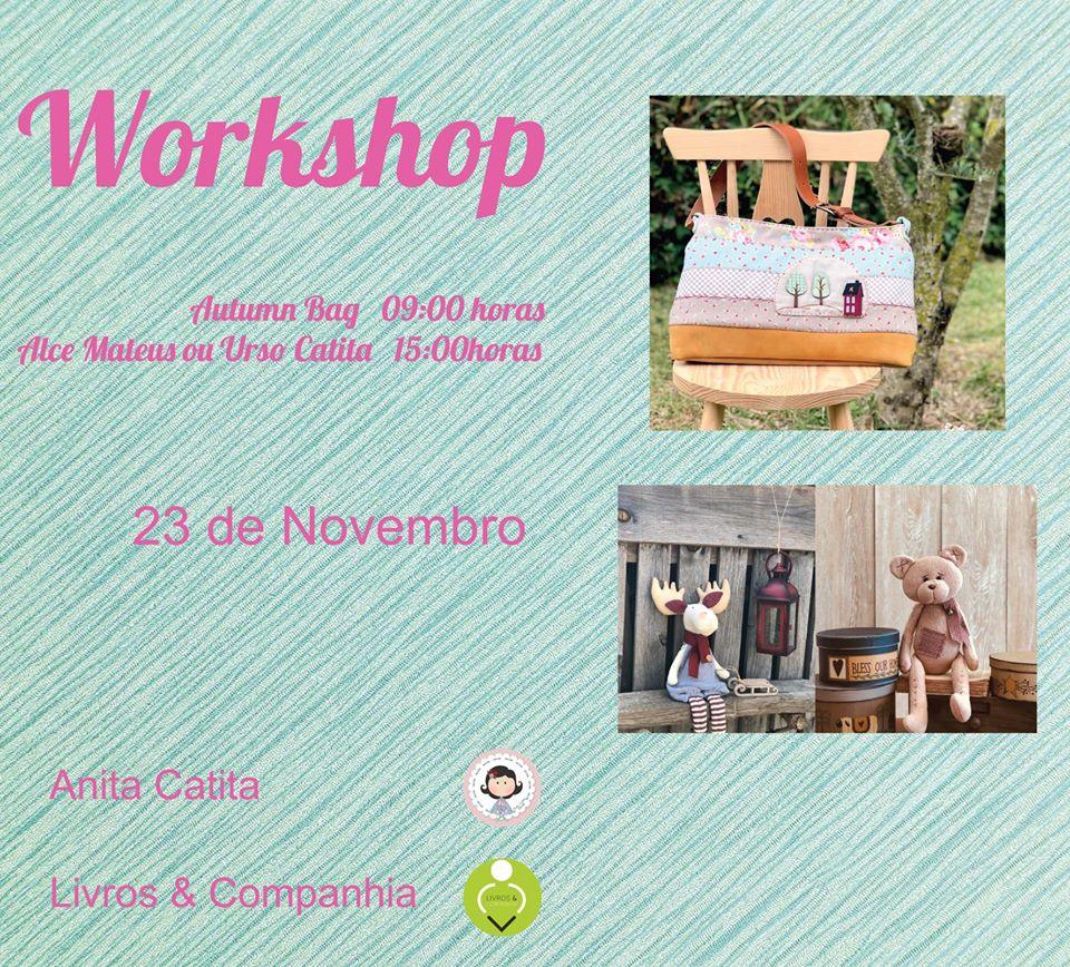 Workshop de costura criativa em Castelo Branco