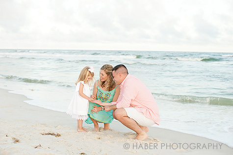 Family Photo Session on the Beach