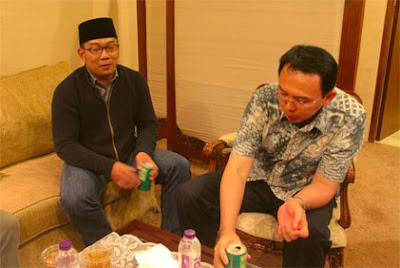 Ahok: Saya Dan Ridwan Kamil Teman Baik, Sebagai Teman Harus Berjuang Bersama Untuk Indonesia