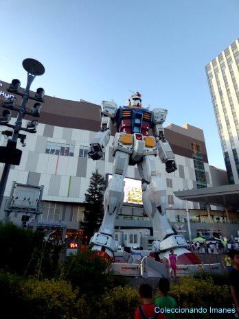 Gundam en la isla de Odaiba