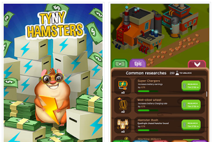 Download Tiny Hamster v2.2.1 Mod Apk (Unlimited Money) For Android Terbaru 2017
