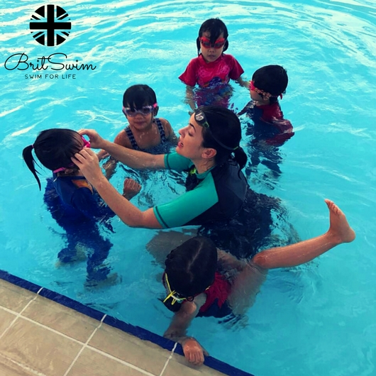 Muscat swimming lessons BritSwim kids adults best swim class
