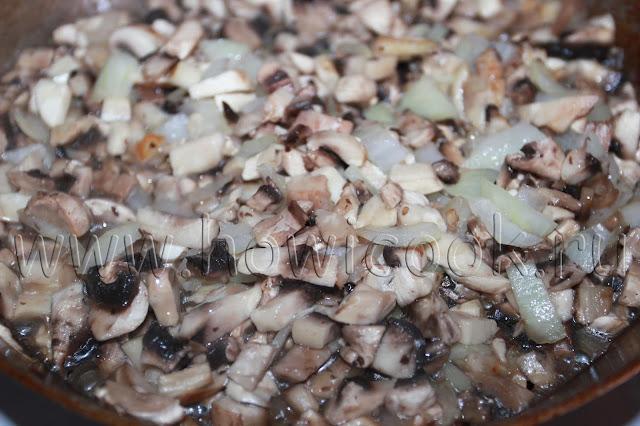 рецепт куриных рулетиков с грибами и сыром