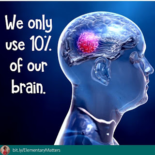 We only use 10% of our brain. Fact or fiction?