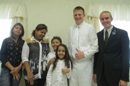 May 2013 Baptisms in Mairipora