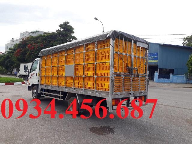Hyundai N250SL thùng chở gà vịt