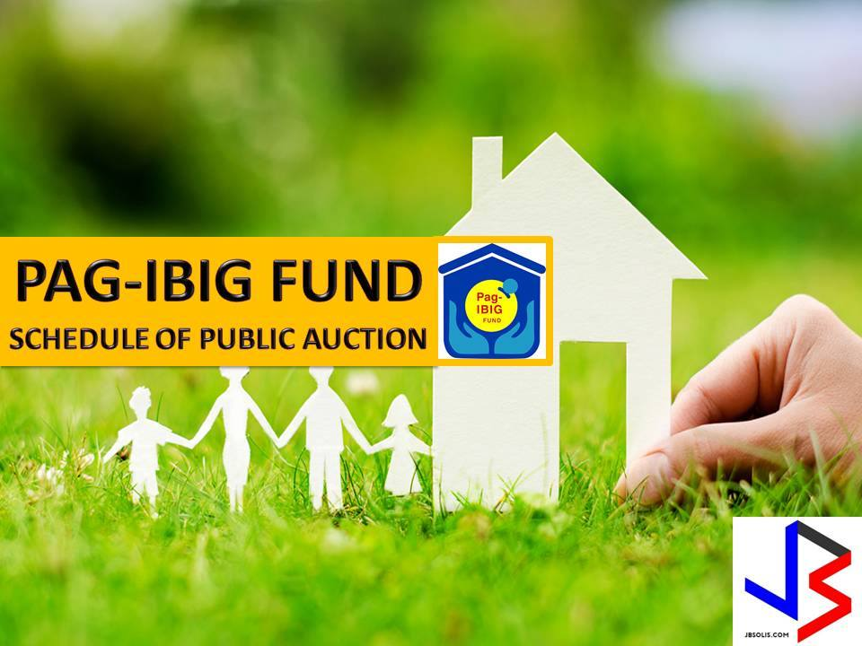Hundreds of acquired assets of properties of Pag-IBIG Fund will be auctioned this June 2017. Six Pag-IBIG branches nationwide will be participating in the public auctions. These includes National Capital Region, Tuguegarao and Tagbilaran.   If you are looking for properties to buy such as lot, house and lot, townhouse, duplex, Quadro-duplex, row houses, and many others, this is your opportunity to own.  Disclaimer: Thoughtskoto is not affiliated nor are we selling any property. All the information had been verified through Pag-Ibig website. We encourage you to transact only with Pag-Ibig authorized agent in their office when participating in auction.