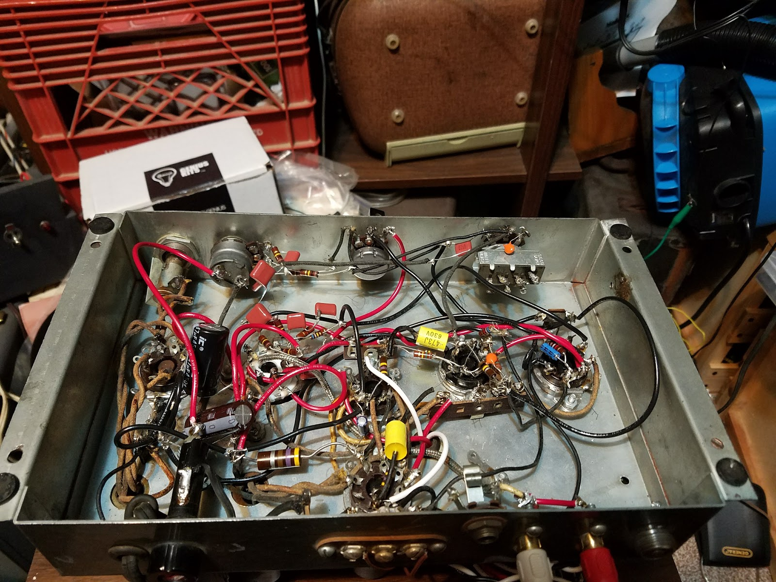 Heathkit A7-E Finished
