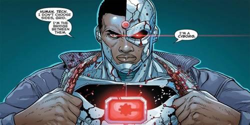 superhero dc tercerdas jenius cyborg