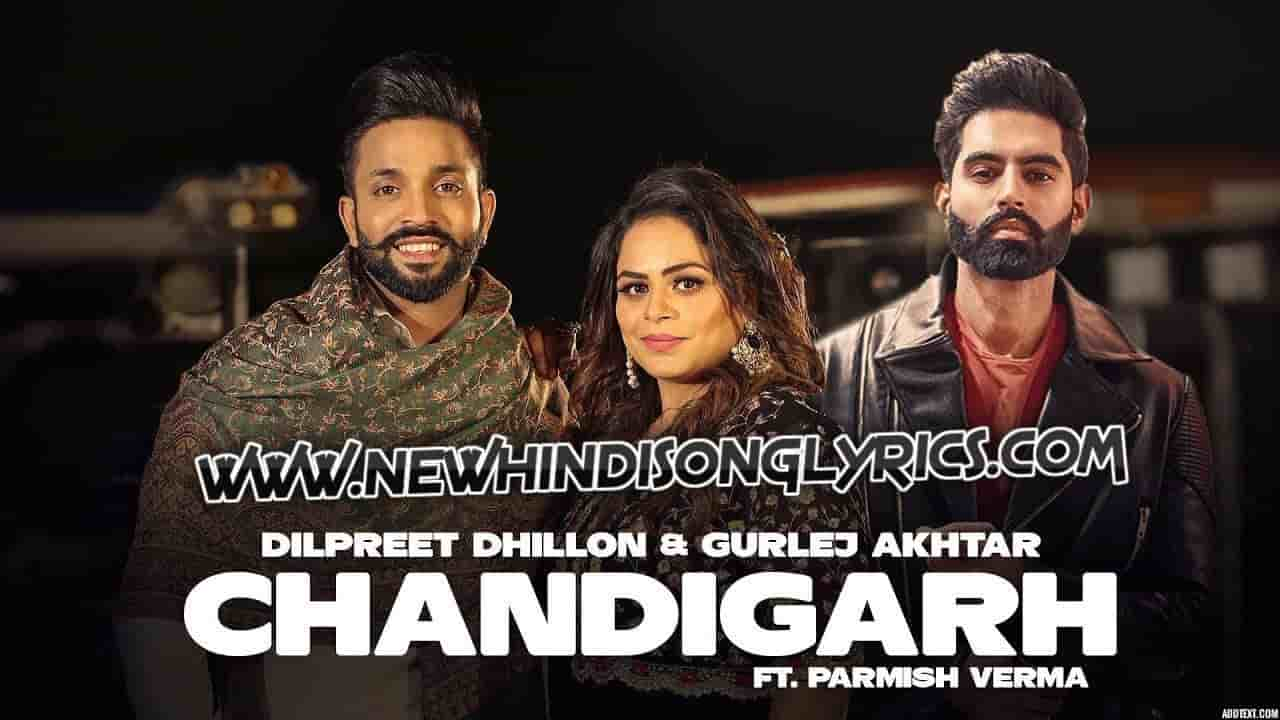 Chandigarh Lyrics Parmish Verma