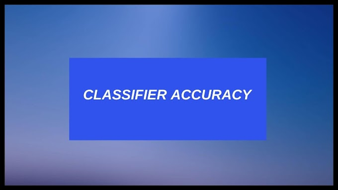 Classifier Accuracy Measures In Data Mining