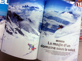 ©Laurent Salino / Skieur Magazine spécial Isère , 160 - ski freeride - Oisans