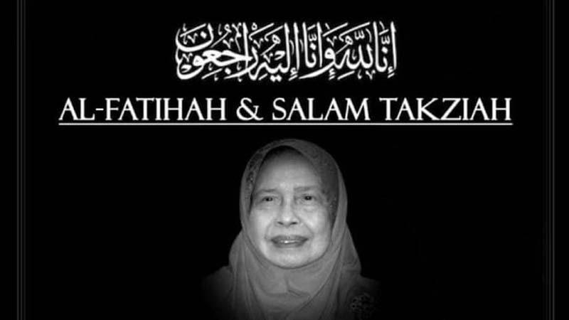 Tun Rahah meninggal dunia