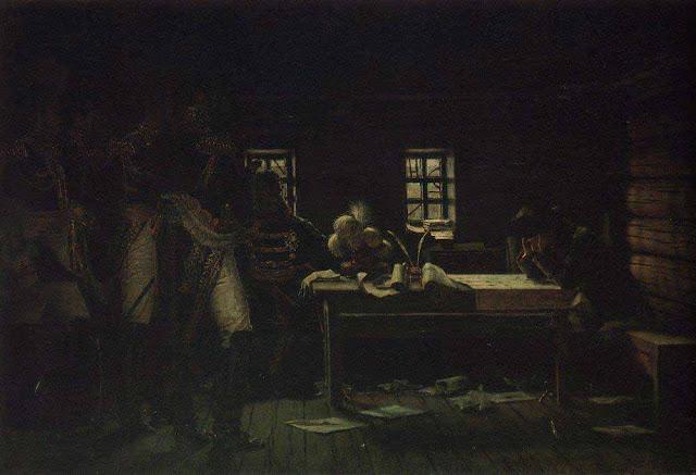 Василий Васильевич Верещагин - В Городне - пробиваться или отступать. 1887-1895