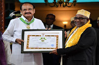 order of green crescent award 2019