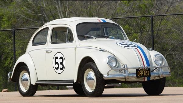 """""""Herbie"""", el Volkswagen Type 1 de la película de Disney Cupido Motorizado (1968)"""