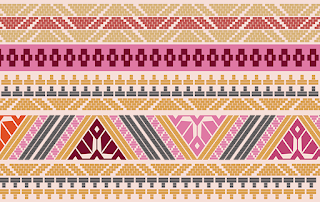 Traditional-art-textile-border-design