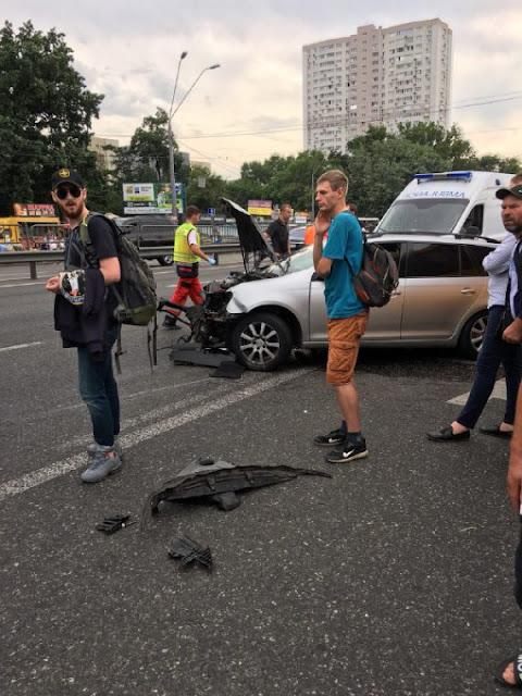 У Києві сталась масштабна аварія