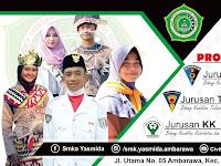 Banner Jurusan Sekolah SMK Yasmida Ambarawa Keren