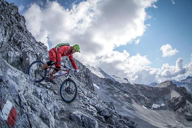 Ortler Mountainbike Tour zur Payerhütte Trail