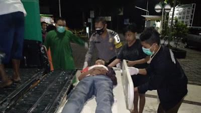Seorang Pelajar Menabrak Pejalan Kaki, Korban Dilarikan Rumah Sakit