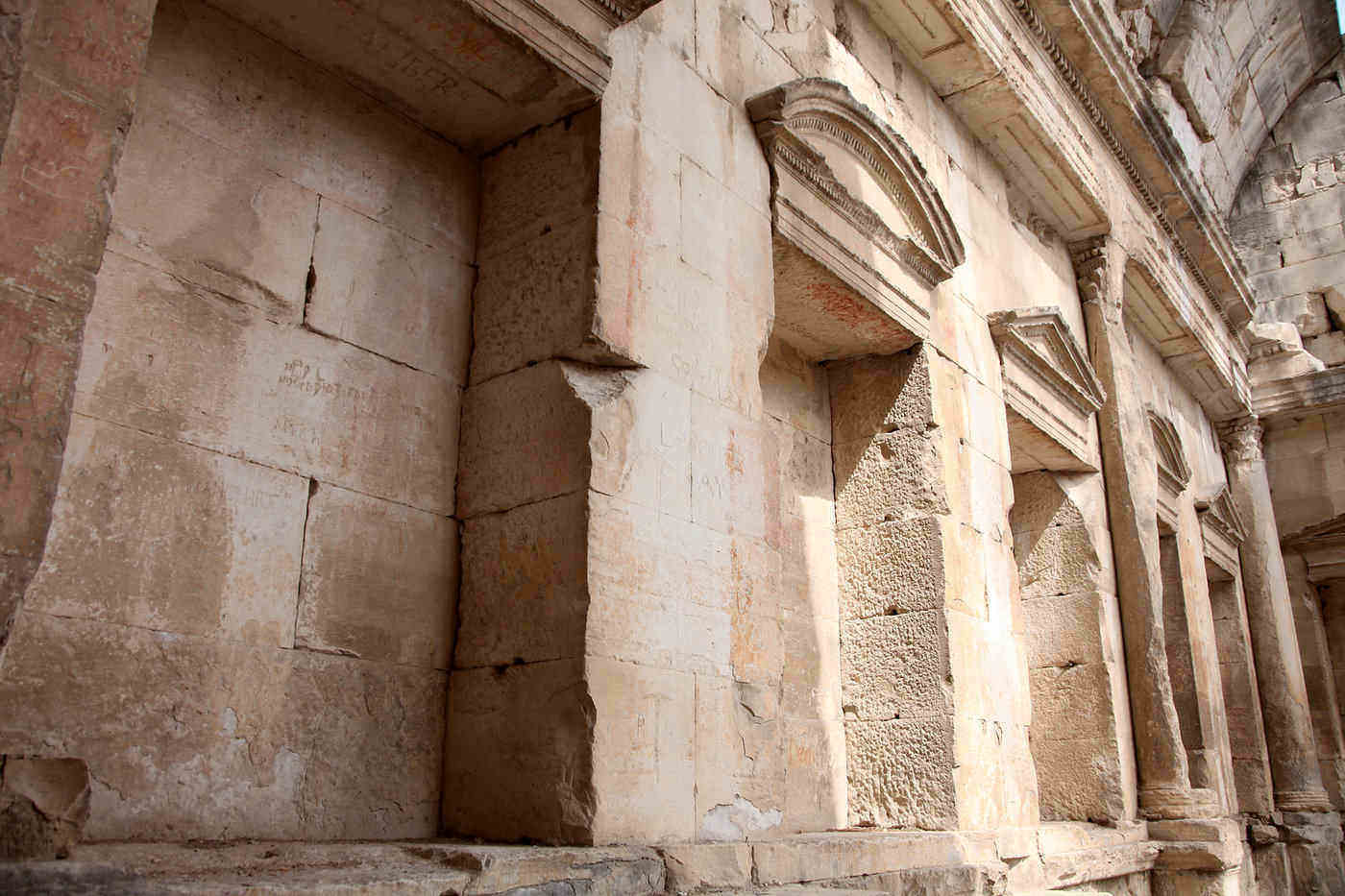 roman temple wall, nimes - best things to do in provence, france