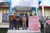 Yohanes Ontot Melakukan Monitoring Kesiapan Satgas Covid-19 Di Kecamatan