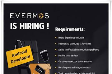 Lowongan Kerja Bandung Karyawan Android Developer Evermos.Com