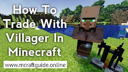 How To Trade With Villager In Minecraft [Step By Step Instructions] MCraftGuide Your Minecraft Guide