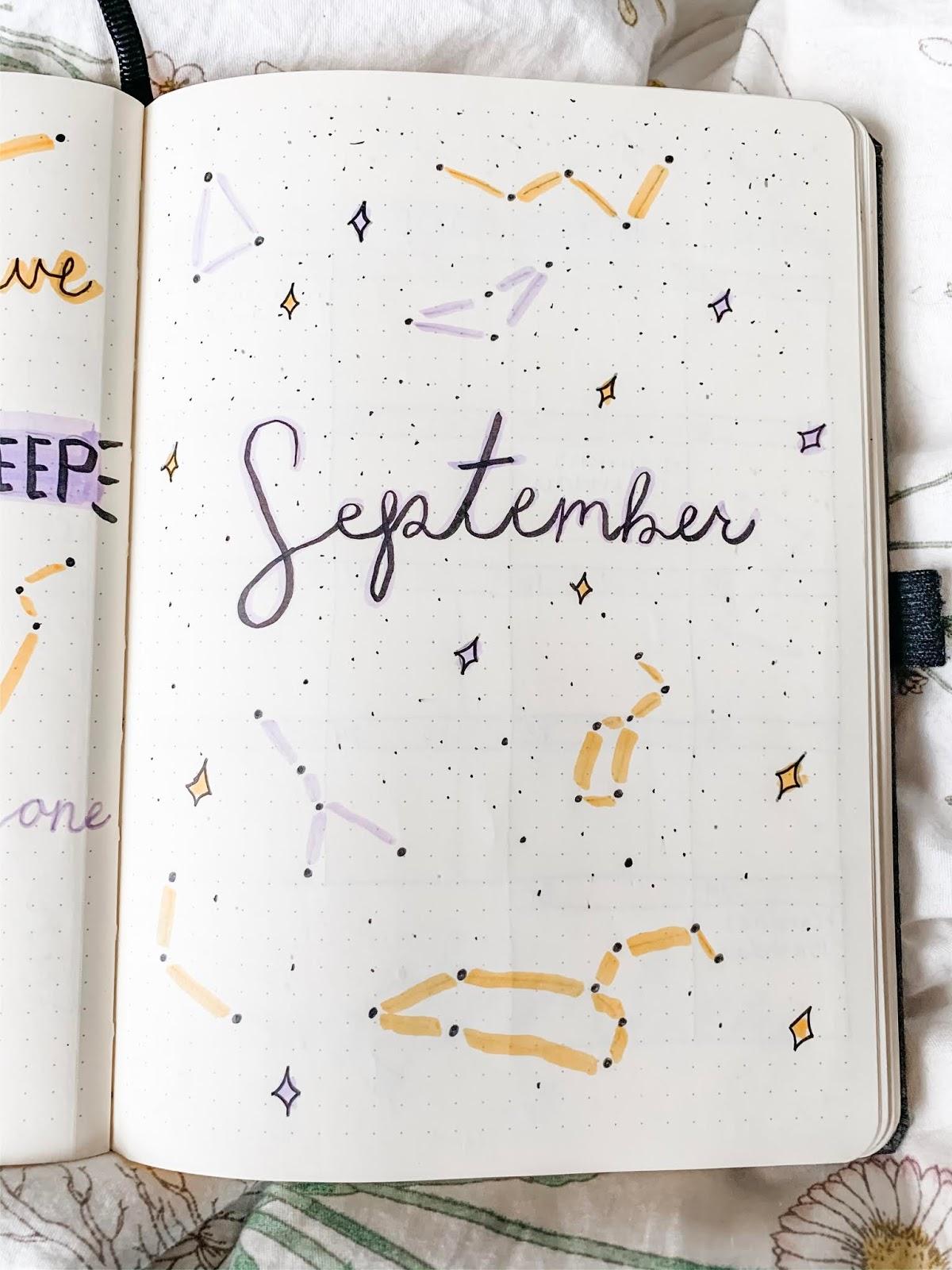 September Bullet Journal Spread - The ...