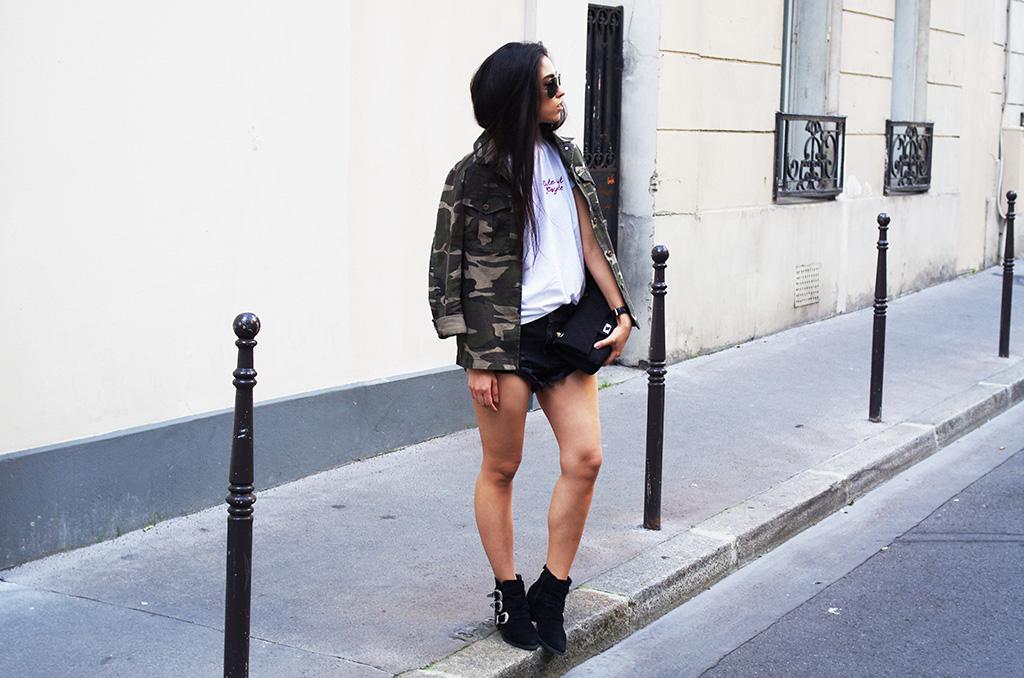 Elizabeth l Cute but psycho x denim shorts outfit l Brandy Melville Asos Forever21 l THEDEETSONE l http://thedeetsone.blogspot.fr