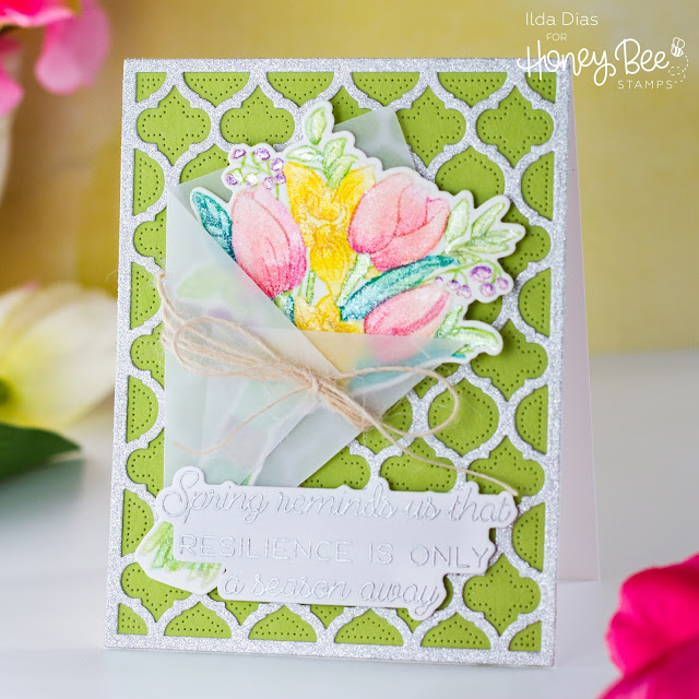 Quatrefoil Cover Plates,Spring Joy Bouquet, Friendship Cards,Honey Bee Stamps,Spring Bliss,Sneak Peeks,Card Making, Stamping, Die Cutting, handmade card, ilovedoingallthingscrafty, Stamps, how to,