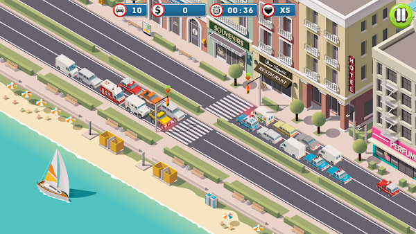 Traffic Command - HTML5 Game + Mobile Version! (Construct 3 | Construct 2 | Capx) 2021