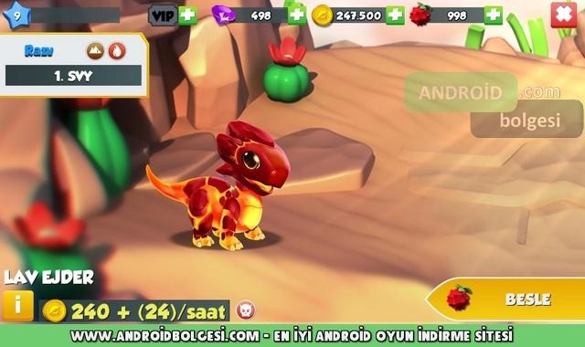 Dragon Mania Efsaneleri Mod Apk