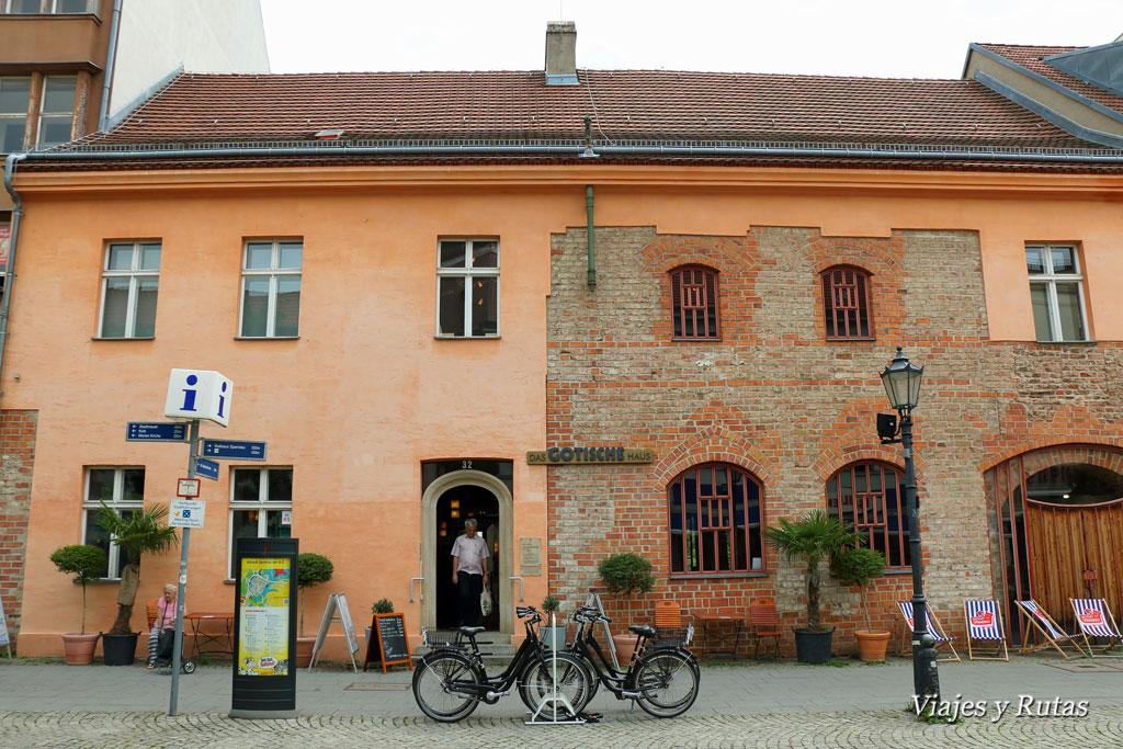 Gotisches Haus de Spandau, Berlín
