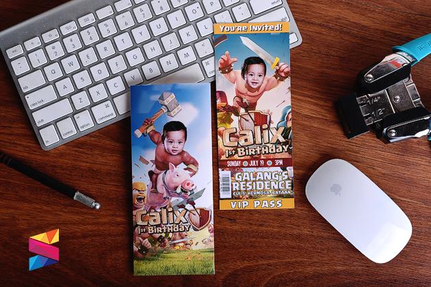 Calix clash of clan theme invitation stunro creativeworks calix clash of clan theme invitation stopboris Choice Image
