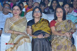 Actress Vimala Raman Stills in White Silk Saree at Om Namo Venkatesaya Audio Launch Event  0019.JPG