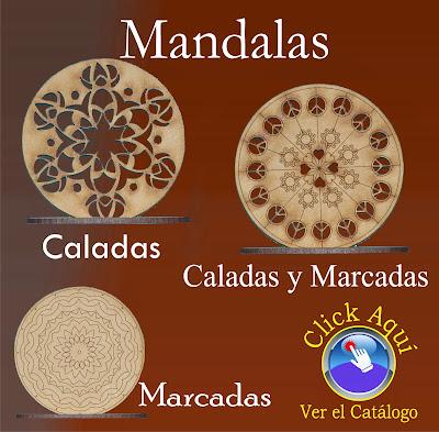 Mistica Creaciones Personalizadas Mandalas En Fibrofacil